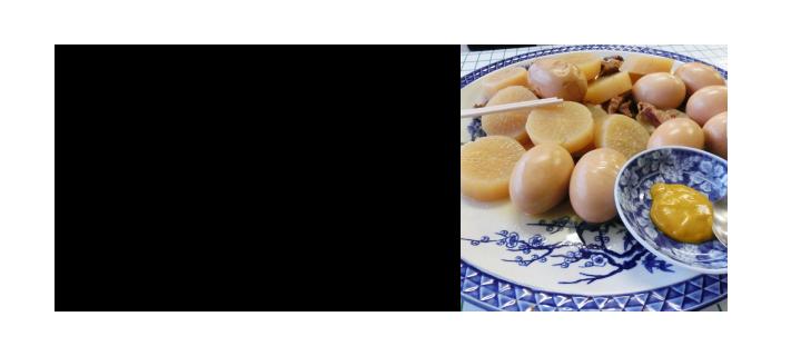 和食器の説明